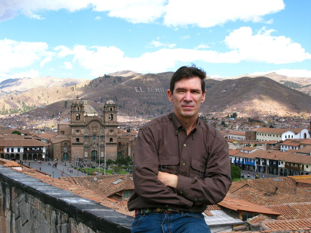 Chuck Jonkey - Cusco Peru
