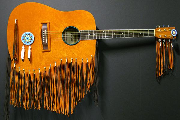Chuck Jonkey Pow Wow Guitar