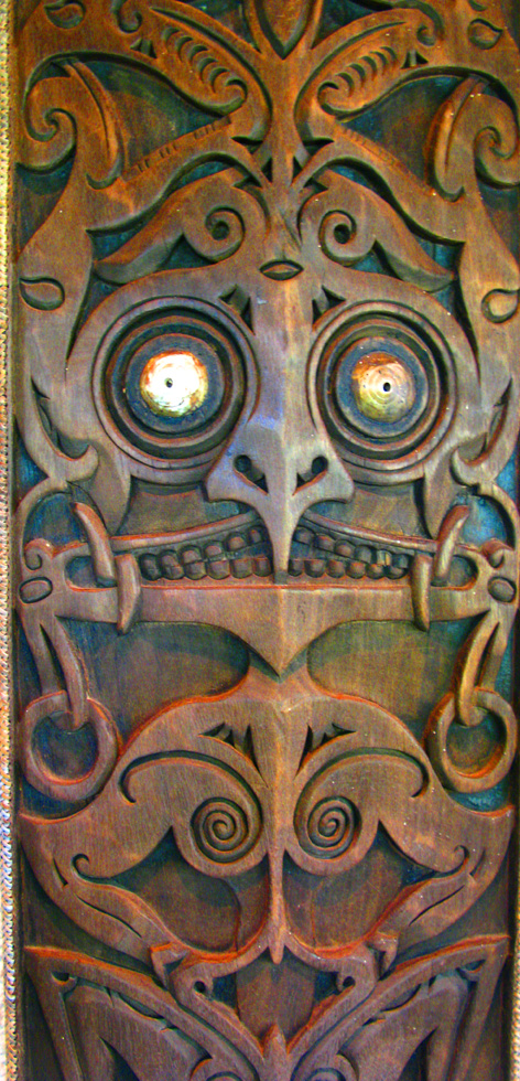 borneo carving