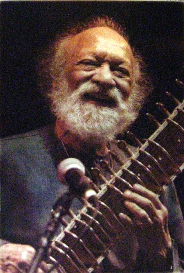 The great sitar master from India Ravi Shankar