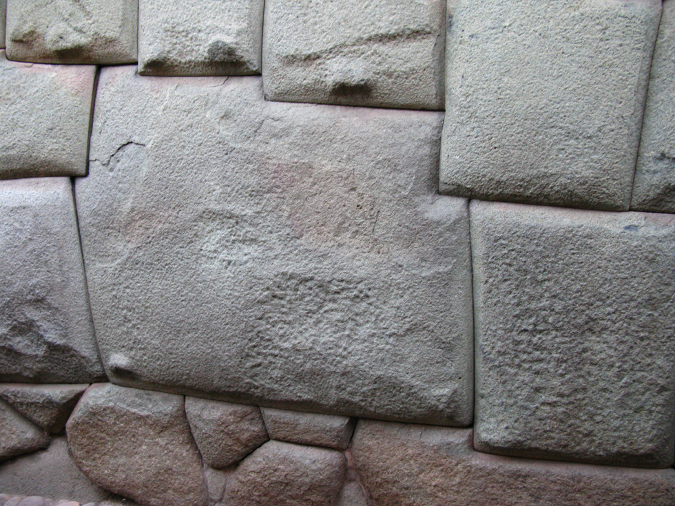 Famous Inca 12 Angle stone in Cuzco