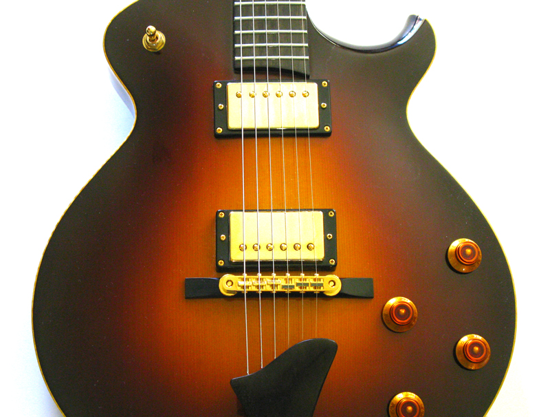 Eastman El Rey Guitar close up