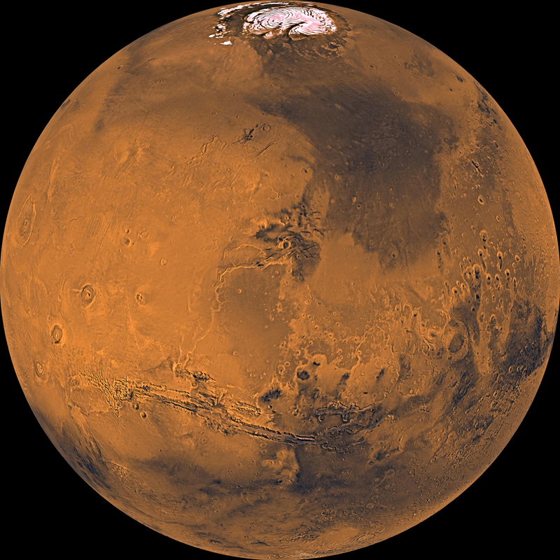 Mars photographed by Viking