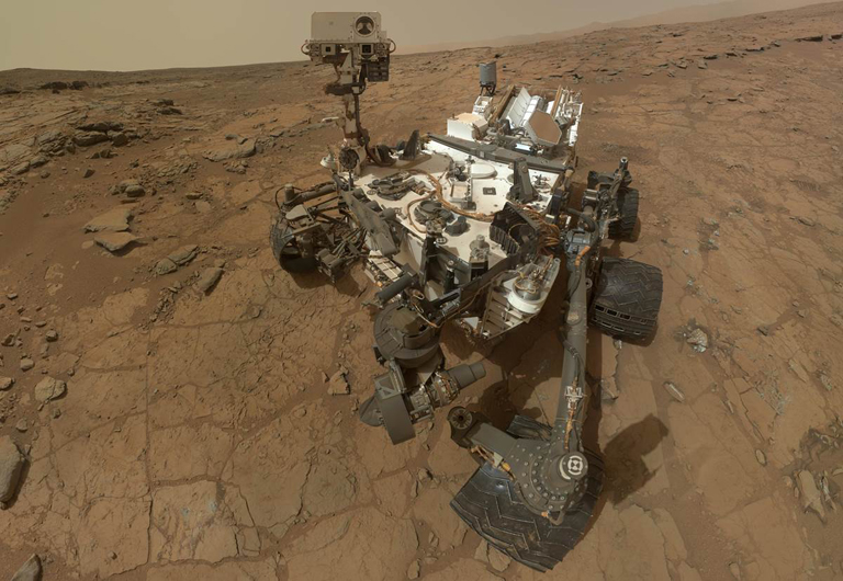 NASA Curiosity on Mars