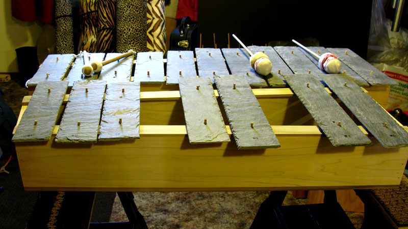 Finished Stone Marimba