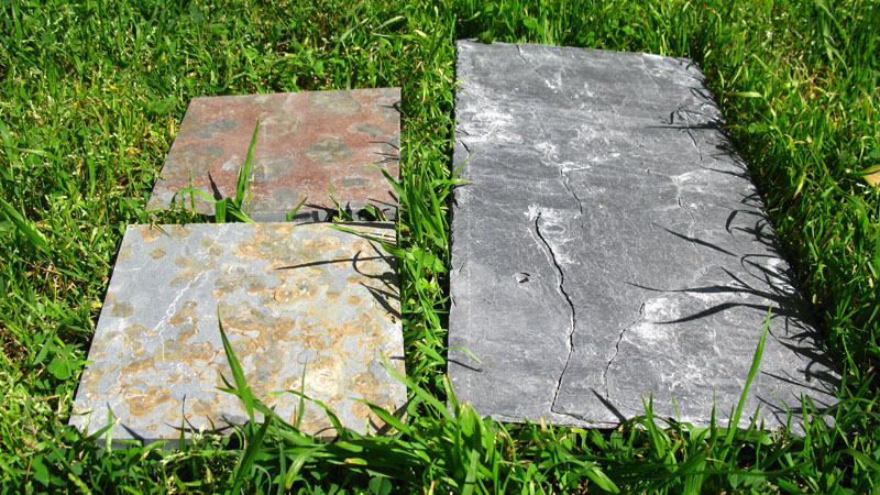 Here are 3 types of slate