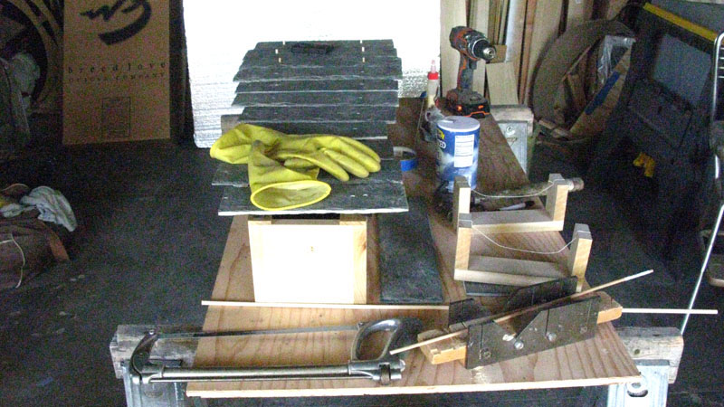 Work Bench for project