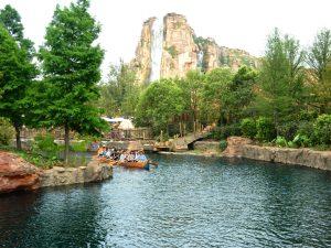 Adventure Isle Canoe ride