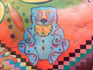 Tribal Table restaurant wall art