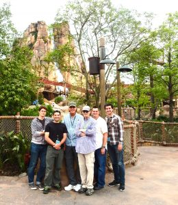 Adventure Isle production team - these are the great guys I worked with