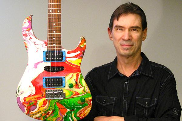 Exotic Guitars - Swirl Paint
